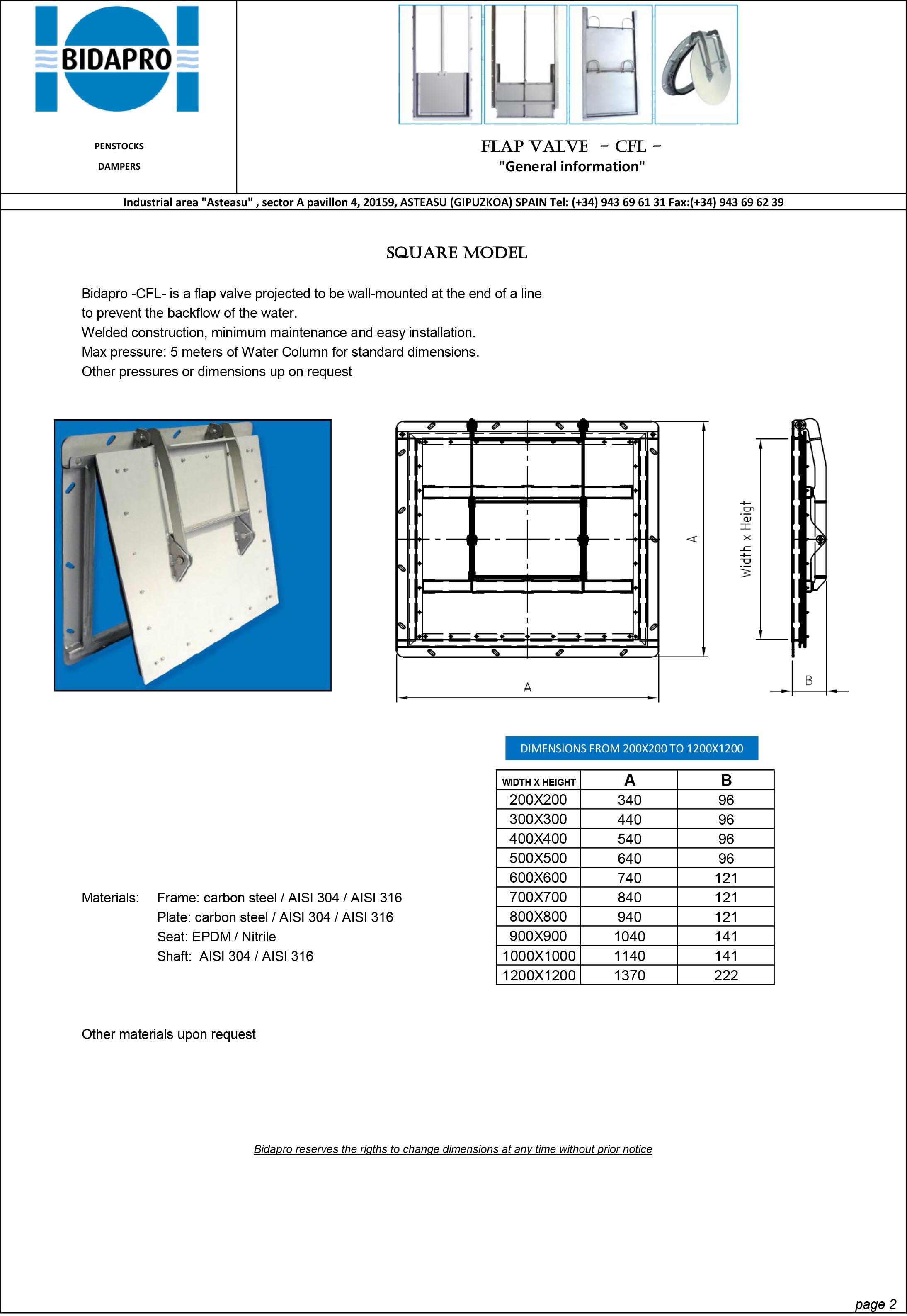 Bidapro Flap valve-2